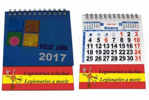 Calendarios policia