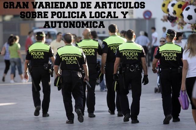 Zona policía local y autonómica