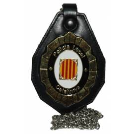 PORTA PLACAS POLICIA LOCAL CATALUNYA GENERICA (PLACA INCLUIDA)