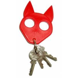 """Llavero de defensa CATKEY """"GATO"""". Color rojo"""