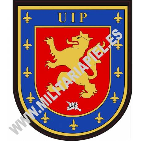 ADHESIVO CUERPO POLICIA NACIONAL UIP