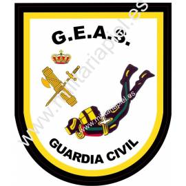 ADHESIVO GUARDIA CIVIL G.E.A.S