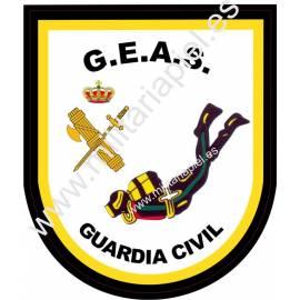 ADHESIVO GUARDIA CIVIL G.E.A.S