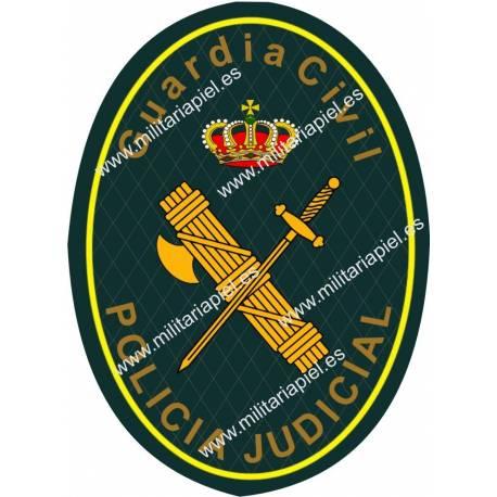 ADHESIVO GURDIA POLICIA JUDICIAL