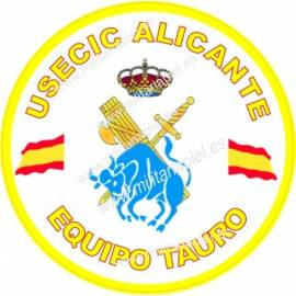 ADHESIVO GUARDIA CIVIL USECIC ALICANTE
