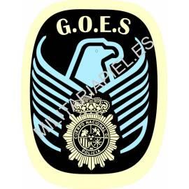 ADHESIVO CUERPO POLICIA NACIONAL G.O.E.S.