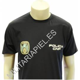 CAMISETA CUERPO NACIONAL POLICIA GOES