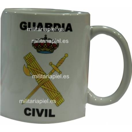TAZA GUARDIA CIVIL DOS EN UNA
