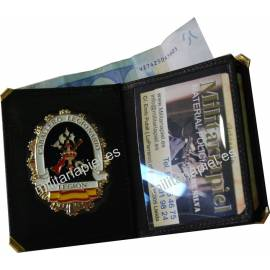 CARTERA LIBRO LA LEGION (PLACA INCLUIDA)