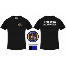 "CAMISETA CUERPO NACIONAL POLICГЌA HELICГ""PTEROS"