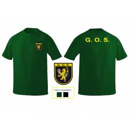 CAMISETA GUARDIA CIVIL GOS (GRUPO OPERATIVO DE SEGURIDAD)