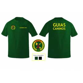 CAMISETA GUARDIA CIVIL GUIAS CANINOS
