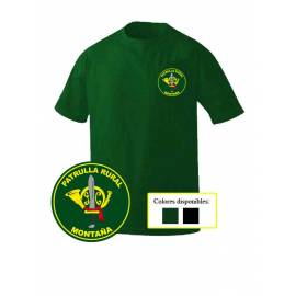 CAMISETA GUARDIA CIVIL PATRULLA RURAL MONTAÑA