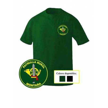 Camiseta Guardia Civil Patrulla Rural MontaГ±a