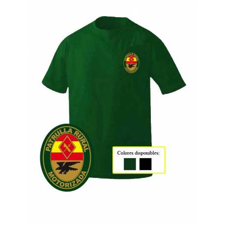 Camiseta Guardia Civil Patrulla Rural Motorizada