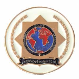 PLACA IPA (INTERNATIONAL POLICE ASSOCIATION)