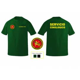 CAMISETA GUARDIA CIVIL SERVICIO CINOLOGIA