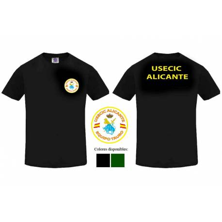 Camiseta Guardia Civil USECIC Alicante