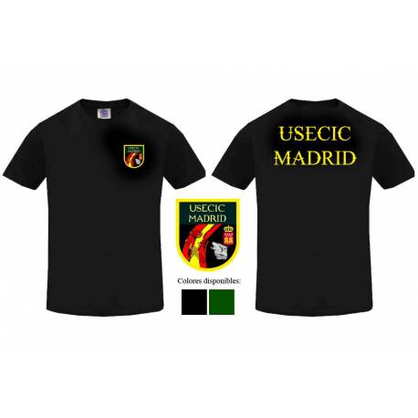 Camiseta Guardia Civil USECIC Madrid