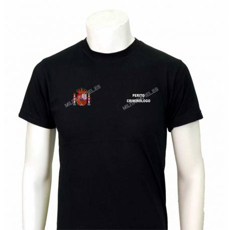 CAMISETAS PERITO CRIMINOLOGO