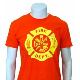 CAMISETA FIRE DEPARTMENT