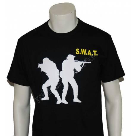 CAMISETA SILUETA DOS SWAT