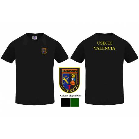 Camiseta Guardia Civil USECIC Valencia