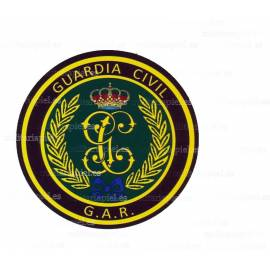 ADHESIVO GUARDIA CIVIL GAR REDONDO