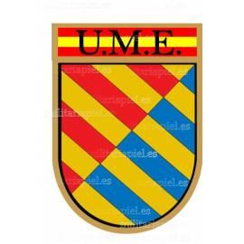 ADHESIVO UME (UNIDAD MILITAR DE EMERGENCIA)