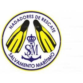 ADHESIVO NADADORES DE RESCATE SALVAMENTO MARITIMO