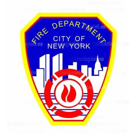 ADHESIVO FIRE DEPARTAMENT NEW YORK