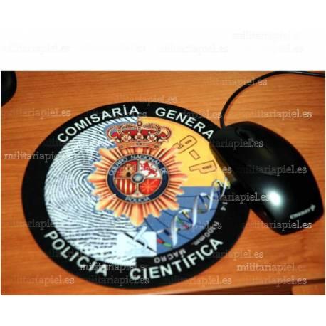 ALFOMBRILLA ORDENADOR CNP POLICIA CIENTIFICA