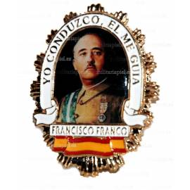 PLACA  CAUDILLO DE ESPAÑA ( DON FRANCISCO FRANCO)