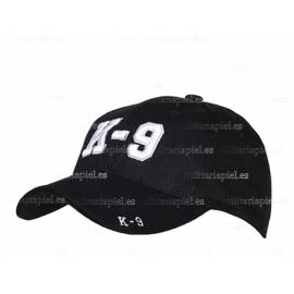 GORRA BORDADA K-9