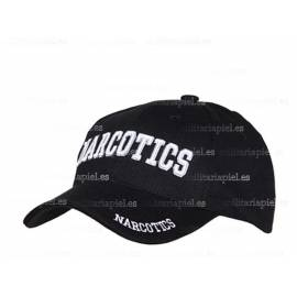 GORRA BORDADA NARCOTICS