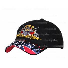 GORRA BORDADA (USA SONS OF DIXIE) ESTADOS CONFEDERADOS DE AMERICA