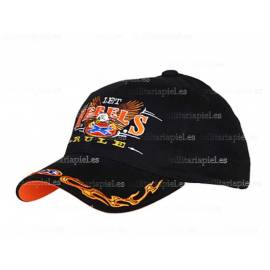 GORRA BORDADA LET REBELS RULE ( REGLA DE LOS REBELDES)