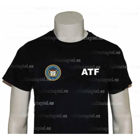 CAMISETA ATF (DEPARTAMENTO DE  ALCOCHOL, TABACO, ARMAS DE FUEGO Y  EXPLOSIVOS)