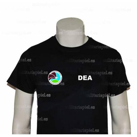 CAMISETA DEA (ADMINISTRACION DE CUMPLIMIENTO DE LEYES SOBRE LAS DROGAS)