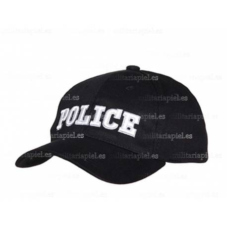 GORRA BORDADA POLICE ( POLICIA )
