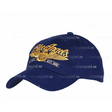 GORRA BORDADA BLUE ANGELS (ANGELES AZULES)