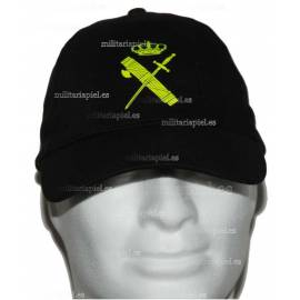 GORRA CON EL NUEVO COLOR DEL EMBLEMA DE LA GUARDIA CIVIL