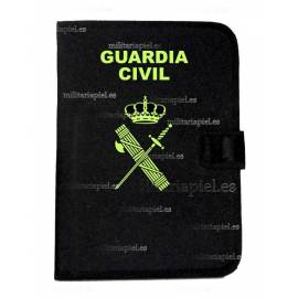 PORTADOCUMENTOS CON EL EMBLEMA  DE LA GUARDIA CIVIL