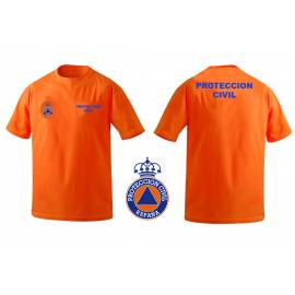 CAMISETA PROTECCION CIVIL