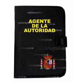 CARPETA PORTADOCUMENTOS AGENTE AUTORIDAD