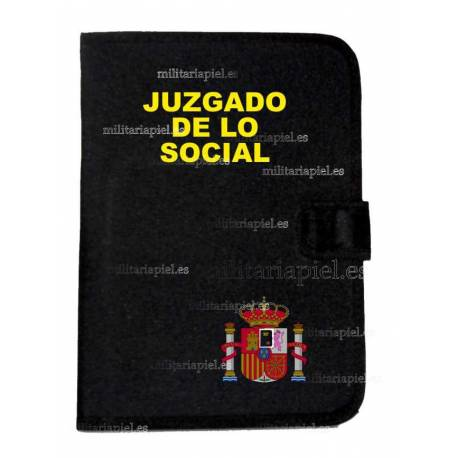 CARPETA PORTADOCUMENTOS JUZGADO DE LO SOCIAL