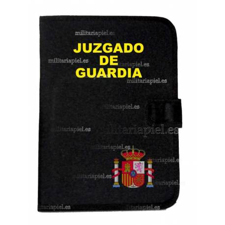 CARPETA PORTADOCUMENTOS JUZGADO DE GUARDIA