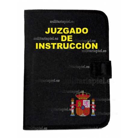CARPETA PORTADOCUMENTOS JUZGADO DE INSTRUCCION