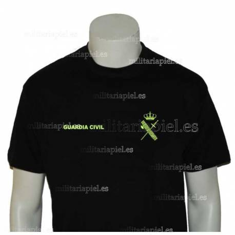 CAMISETA GUARDIA CIVIL GENERICA CON COLOR NUEVA NORMATIVA