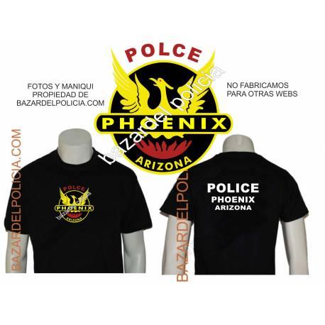 CAMISETA POLICIA PHOENIX